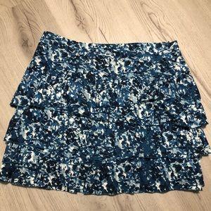 Ann Taylor Loft size 8 Ruffled Women's Skirt